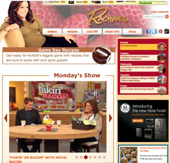 Kevin Bacon - Rachel Ray Show