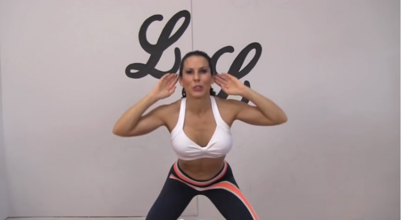 100 Squat Challenge Position Two