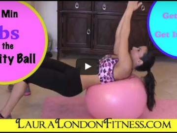 10 Minute Ab Workout on the Stability Ball