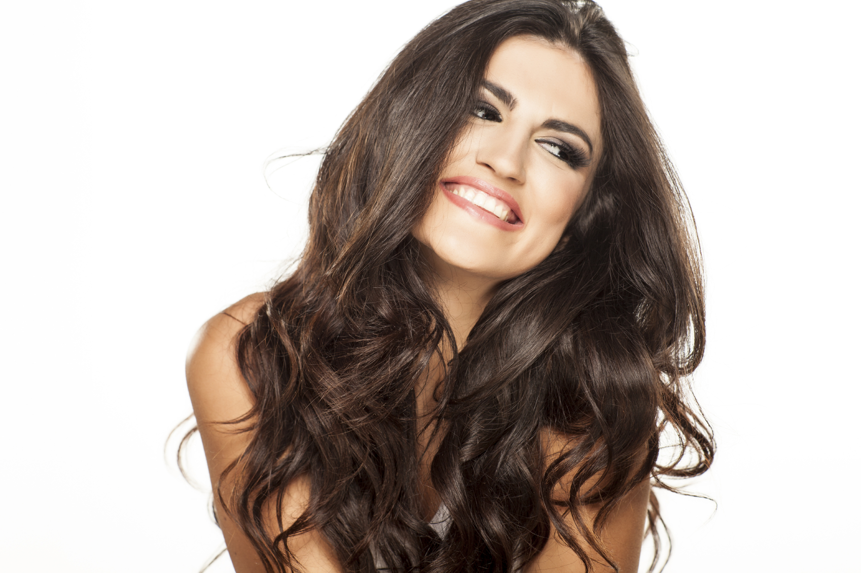 Beautiful Hairstyle In Oily Hair : Beautiful shiny hair treatment with coconut oil laura london