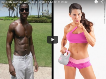 Full Body Weight Workout with Kodjo Workout & Laura London