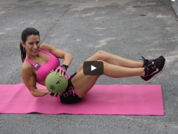 Kick Your Abs in the Parking Lot Workout
