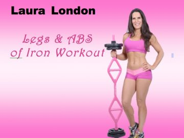 Legs & ABS of Iron Lower Body Workout