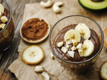 Cocolate Avocado Pudding
