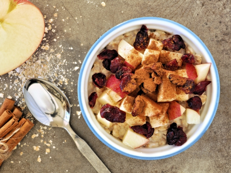 Healthy raw breakfast cereal easy to make and gluten free apple cereal ccuart Choice Image