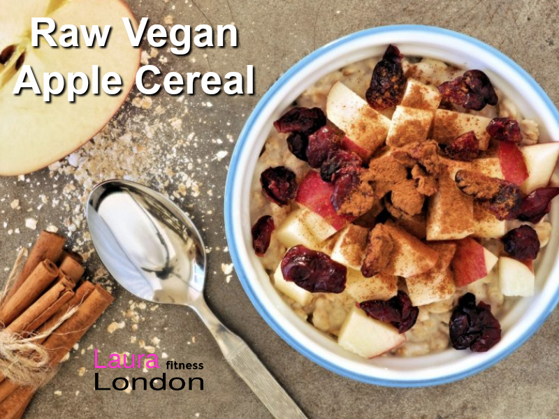 Raw Apple Cereal vegan