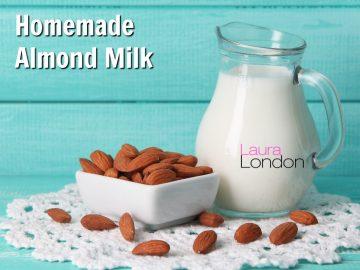 Easy Homemade 5 Minute Almond Milk