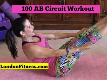 Super Sexy Core – 100 Rep AB Workout