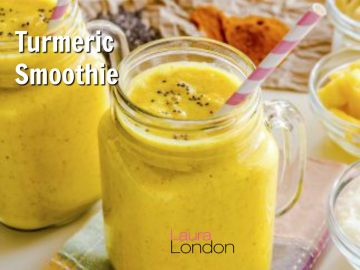 Anti-Inflammatory, Liver Loving Smoothie with Turmeric