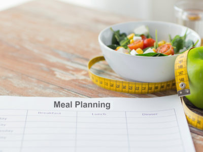 Meal Planning for healthy eating