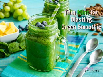 Thin Mint Fat Blasting Green Smoothie