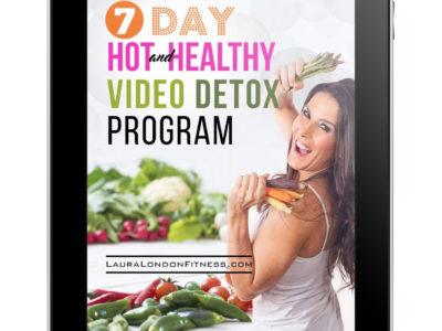 Ipad 7 Day Hot and Healthy Video Detox Program