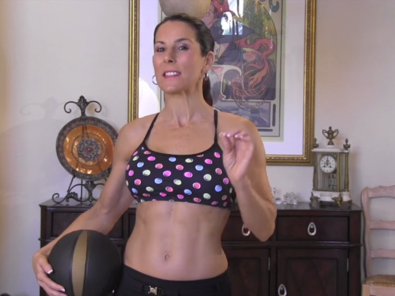 Medicine Ball AB Workout For A Tight Core