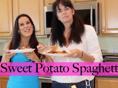 Sweet Potato Spaghetti