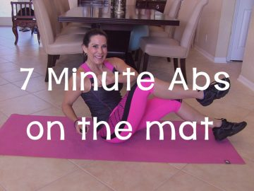 Best 7 Minute Ab Workout On The Mat