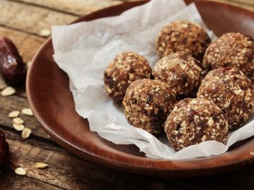 Chocolate Hot and Healthy Protein Bites