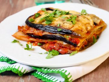 gluten free vegetable lasagna