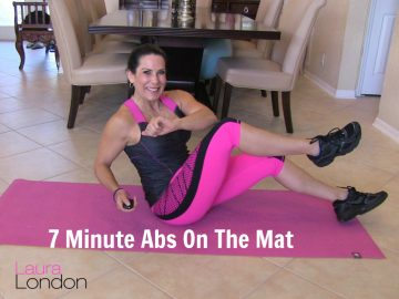 7 Minute Abs On The Mat
