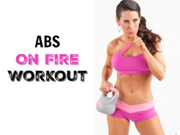 Abs On Fire Core Workout