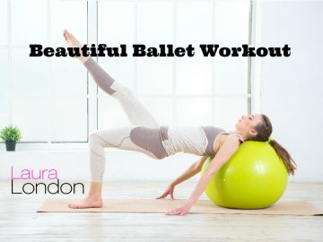 Ballet Workout With Stability Ball
