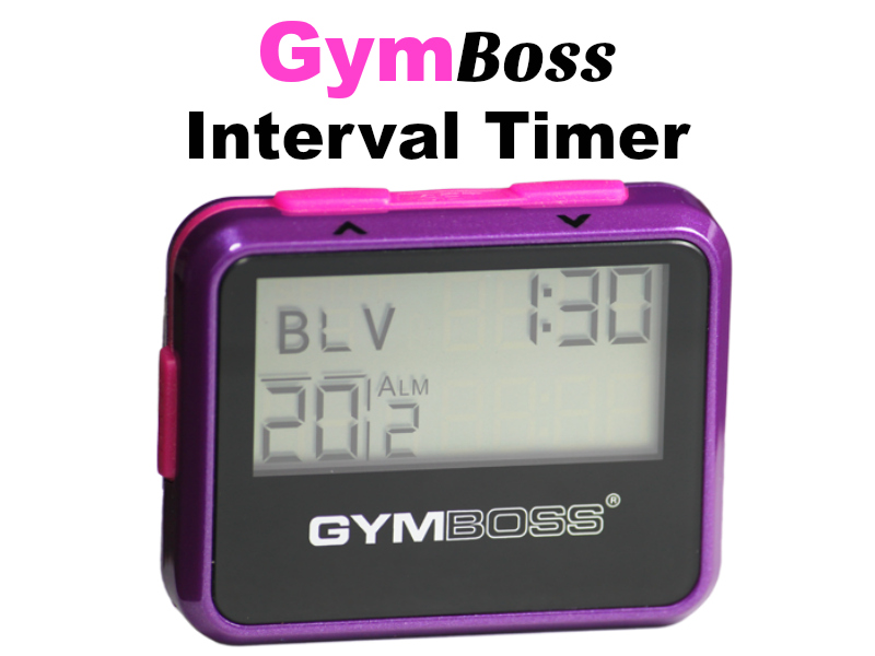 Fitness must have gym boss timer laura london