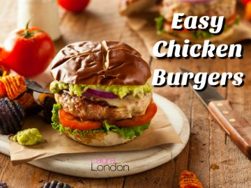 Easy Chicken Burgers