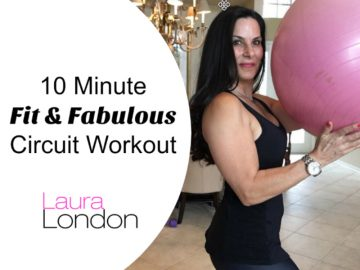 10 Minute Workout – 10 Minutes To Fit and Fabulous