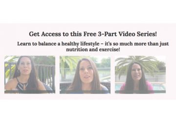 FREE 3 Part Weight Loss Video Series Is Here!