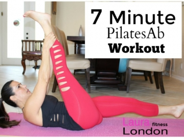 7-Minute Pilates Ab Workout For A Tight Core