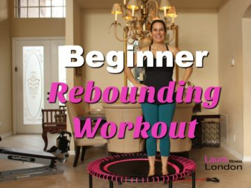 15 Minute Beginner Rebounding Workout