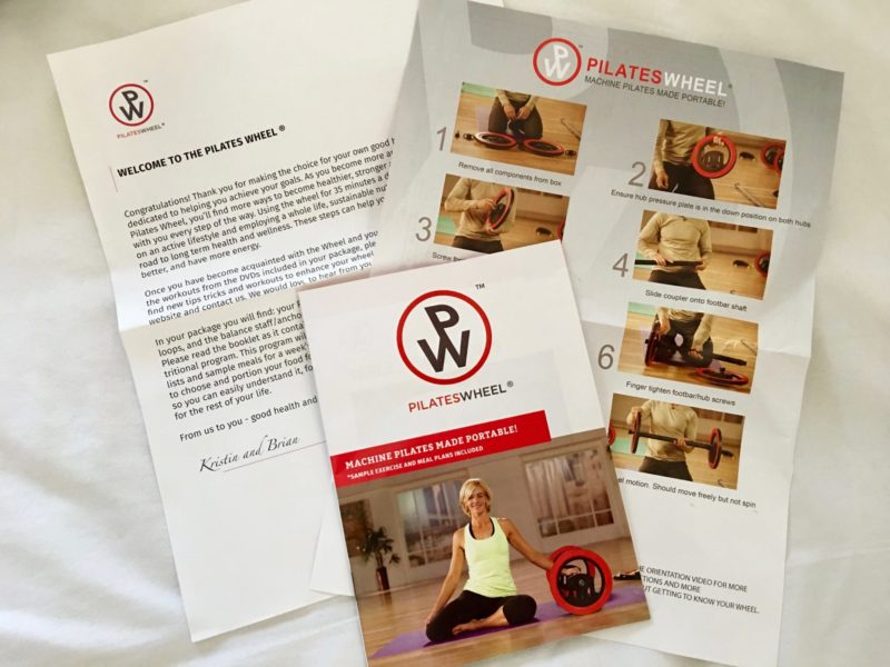 Pilates Wheel Guide Book