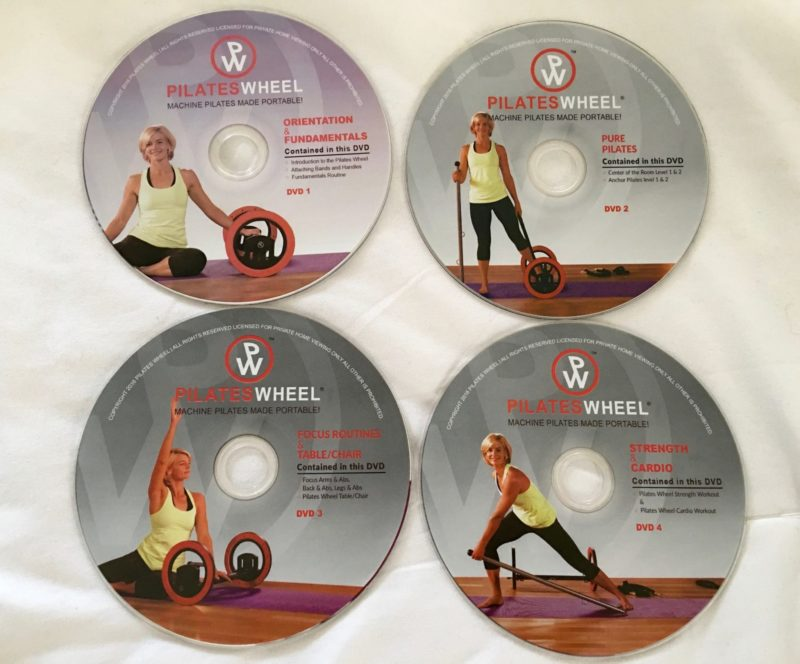 The Pilates Wheel Videos
