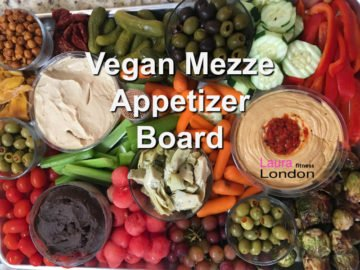 Easy Vegan Mezze Board Appetizer