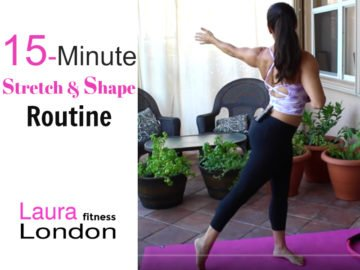 15-Minute Stretch and Shape Routine