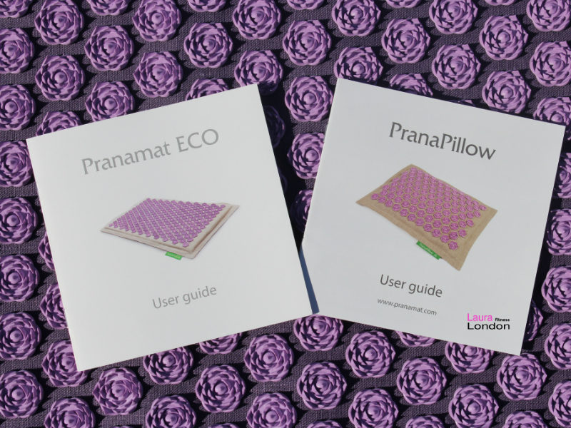 pranamat massage mat an pillow