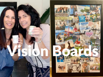 Workshop Vision Board With Laura London