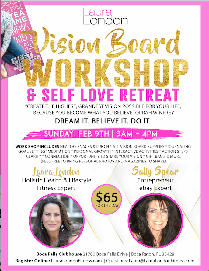 vision board workshop and retreat