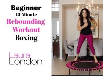 beginner rebounding workout